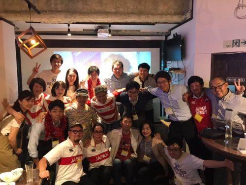 【イベントレポート】BeYond Labo #22 <br>ラグビーW杯をBeYond!<br>〜RUGBY パブリックビューイング〜